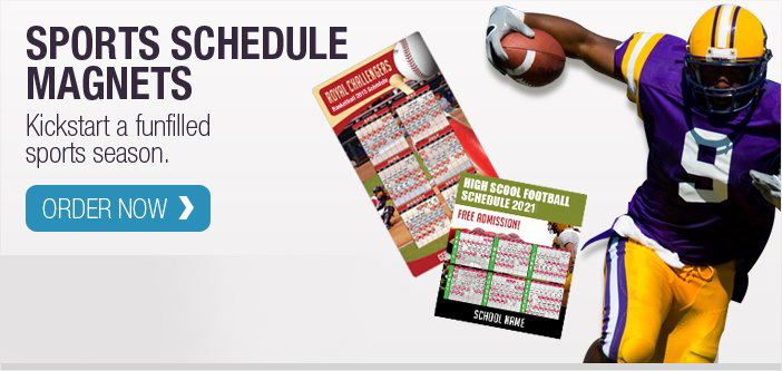Sports Schedule Magnets